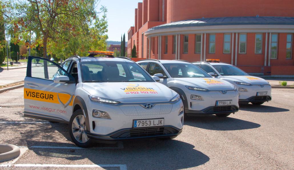 Visegur incorpora a su flota de seguridad tres nuevos vehículos eléctricos
