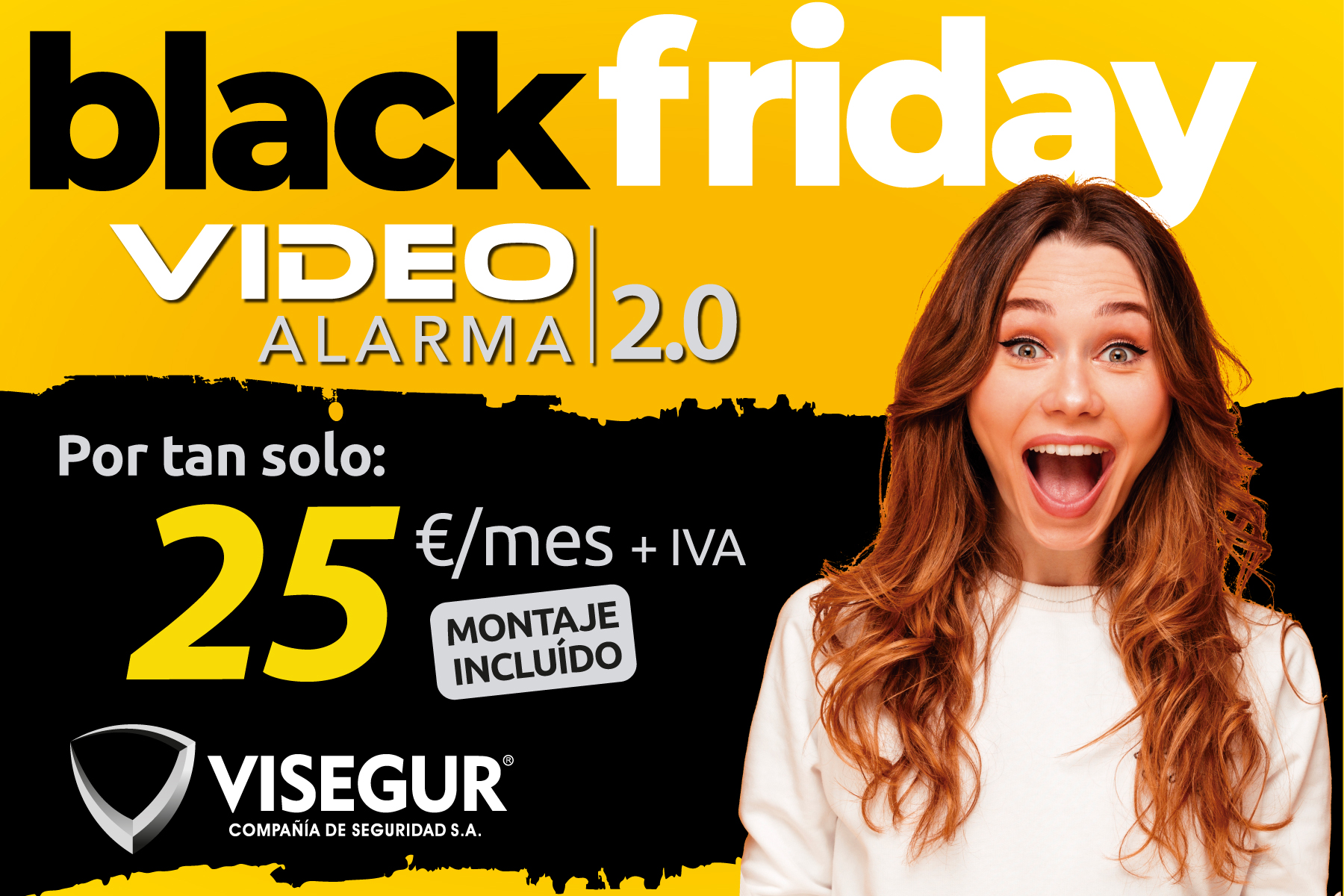 Video alarmas en Ciudad Real: nos adelantamos al Black Friday